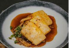 Тофу и грибы - отличное сочетание...