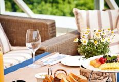 Лучше завтракать, обедать и ужинать на природе!
