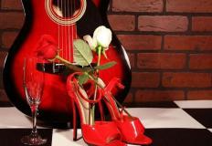 """8, 9 февраля в ресторане """"Пять звёзд"""" музыкальный вечер Сергея Виноградова (гитара)"""