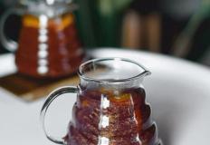 """Волшебный синий чай """"Северное сияние"""" с кумкватом, имбирём и экстрактом единорога в кофейне """"Келди"""""""
