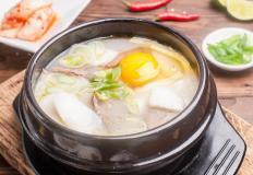 Токкук - суп с рисовыми галушками
