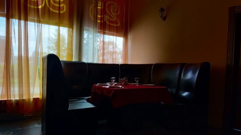 """Интерьер кафе """"""""Вотсточное кафе"""