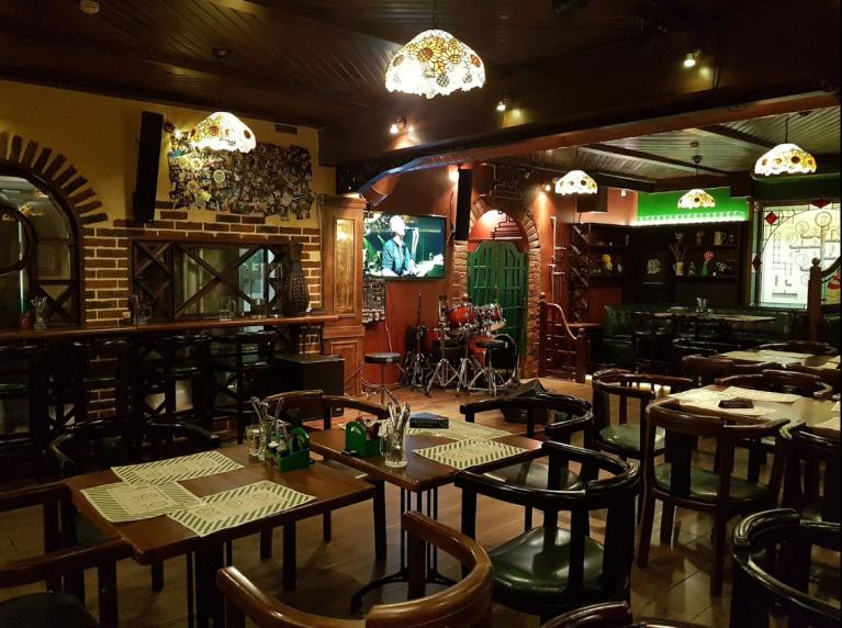 Фотография интерьера ресторана-пивоварни Gustav @ Gustav