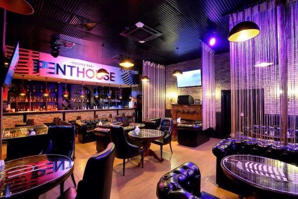 Фотография интерьера караоке-бара Penthouse (со страницы в VK)