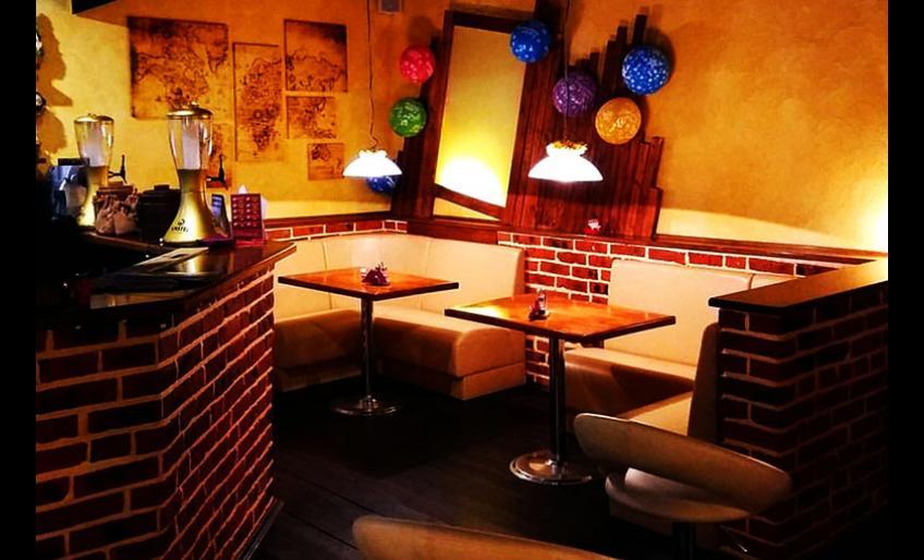 """Фотография интерьера кафе """"Барин пицца"""" с сайта заведения"""