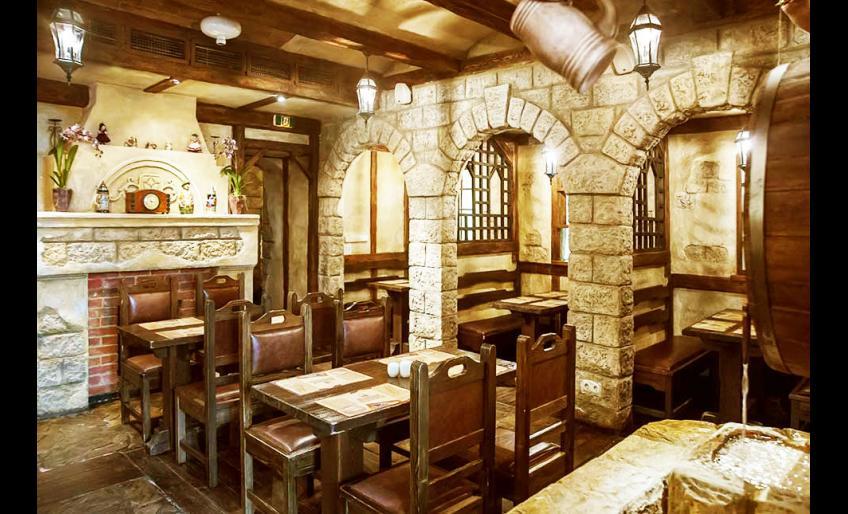 "Фотография интерьера ресторана ""Beerhaus"" (с сайта worldcoffe.ru)"