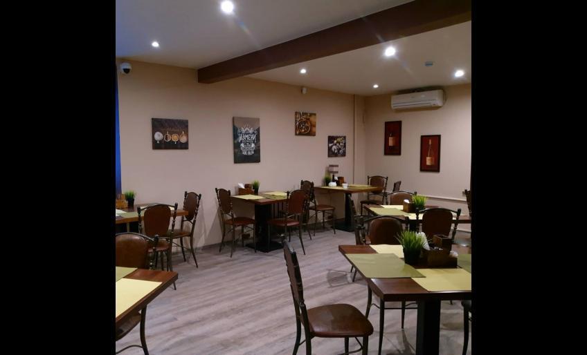Интерьер кафе Family cafe в Хабаровске