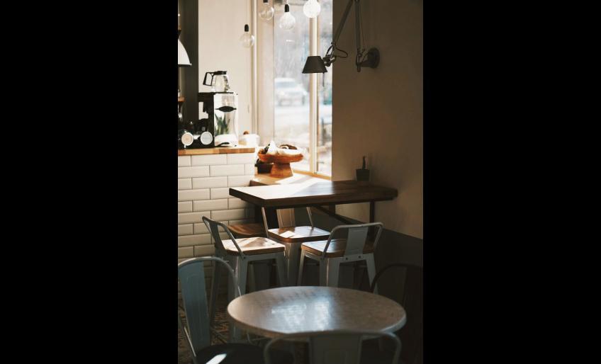"""Фотография кафе """"Мускатный кит"""" (из аккаунта @muscatwhale_bistro в Instagram)"""