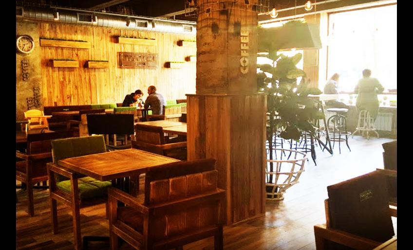 Фотография интерьера кофейни Plantacia coffee