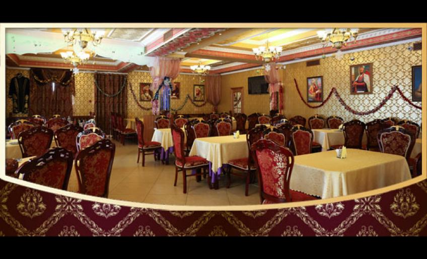 """Фотография интерьера ресторана """"Самарканд"""" (с сайта заведения)"""