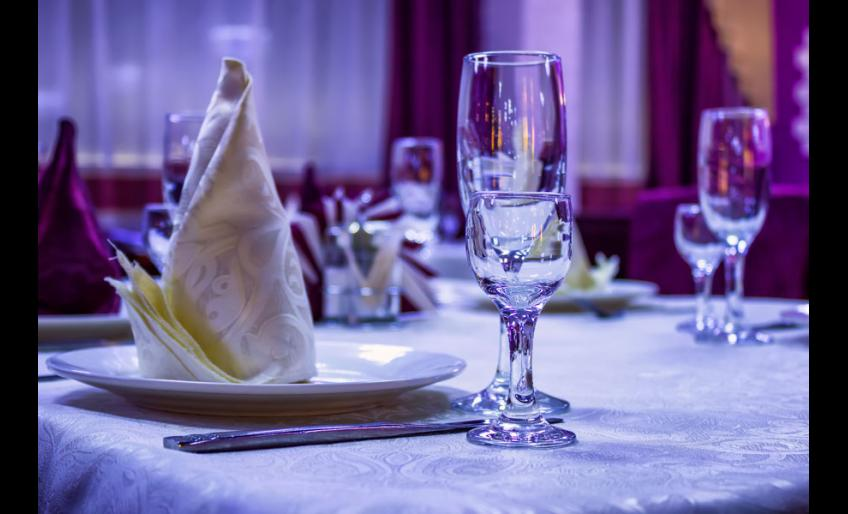 """Ресторан """"Малина"""" в Хабаровске: сервировка"""