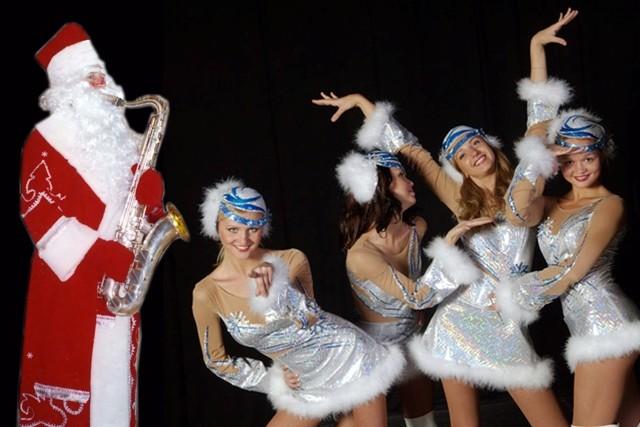 Современные танцы на новый год