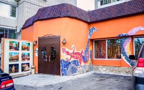 """Кафе """"Гауди"""" в Хабаровске: адрес, телефон, меню, отзывы ... Вход В Кафе Интерьер"""