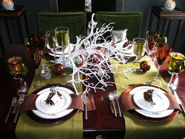 Идеи для новогоднего стола своими руками